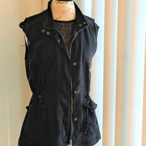 Lucky Brand Black vest